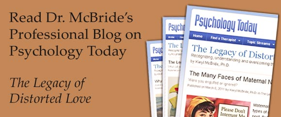 Dr  McBride's Psychology Today Blog - Will I Ever Be Good Enough